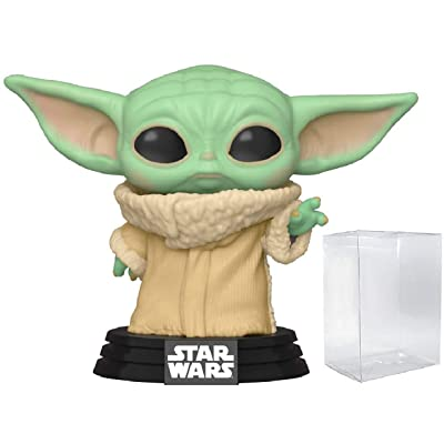 POP! Funko Star Wars The Mandalorian - Baby Yoda The Child Vinyl Figure: Toys & Games