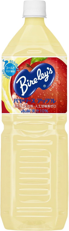 アサヒ飲料 バヤリース アップル 1500ml×8本