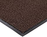 Notrax Non-Absorbent Fiber 231 Prelude Entrance Mat, for Outdoor and Heavy Traffic Areas, 2' Width x 3' Length x 1/4'' Thickness, Brown