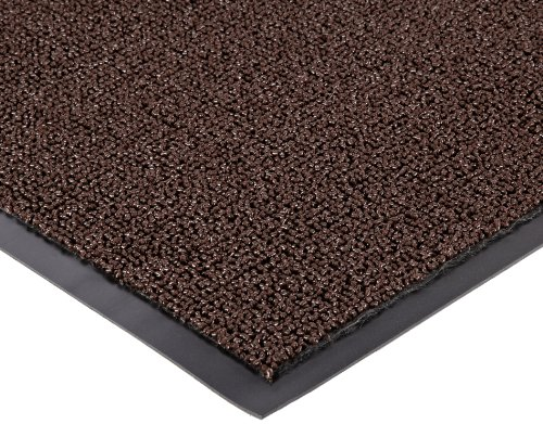 Notrax Non-Absorbent Fiber 231 Prelude Entrance Mat, for Outdoor and Heavy Traffic Areas, 2' Width x 3' Length x 1/4'' Thickness, Brown by NoTrax Floor Matting