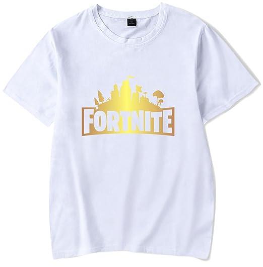 SERAPHY 2018 Newly Arrival Unisex Shirt Fortnite t shirt for Men/Women Short Sleeve Cotton