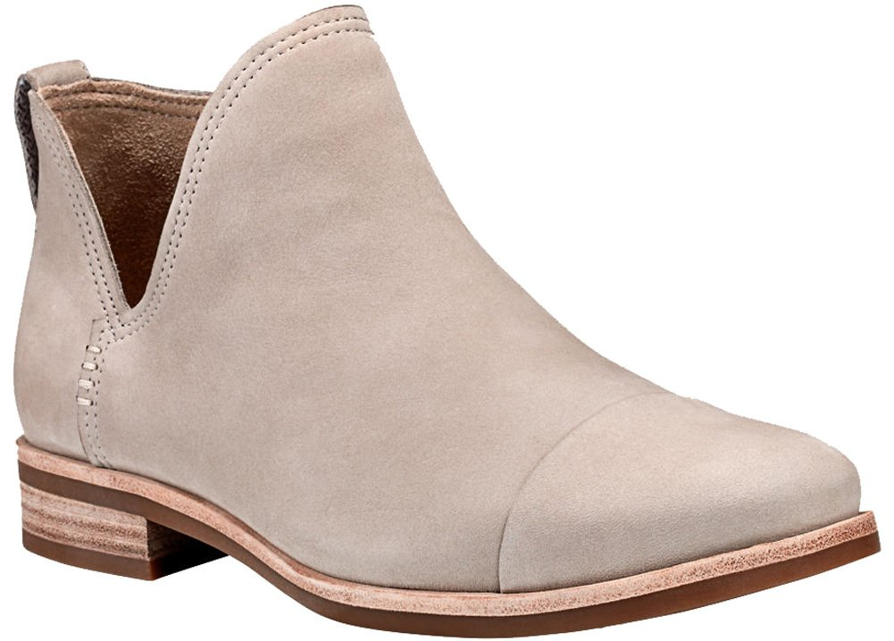Timberland Womens Somers Falls Chelsea Boot Light Taupe Nubuck 8 B - Medium