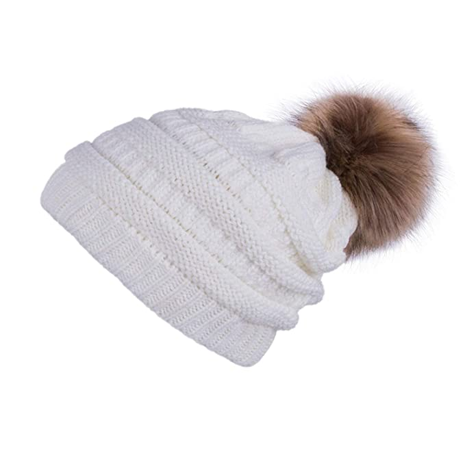 fcb99e84f653e Image Unavailable. Image not available for. Color  Winter Ball Cap Winter  Hat ...