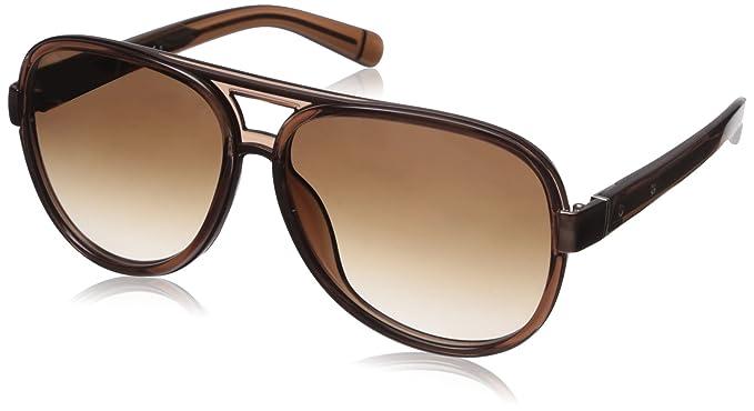976c522a161 Amazon.com  Bobbi Brown Women s The Jake s Aviator Sunglasses Warm ...