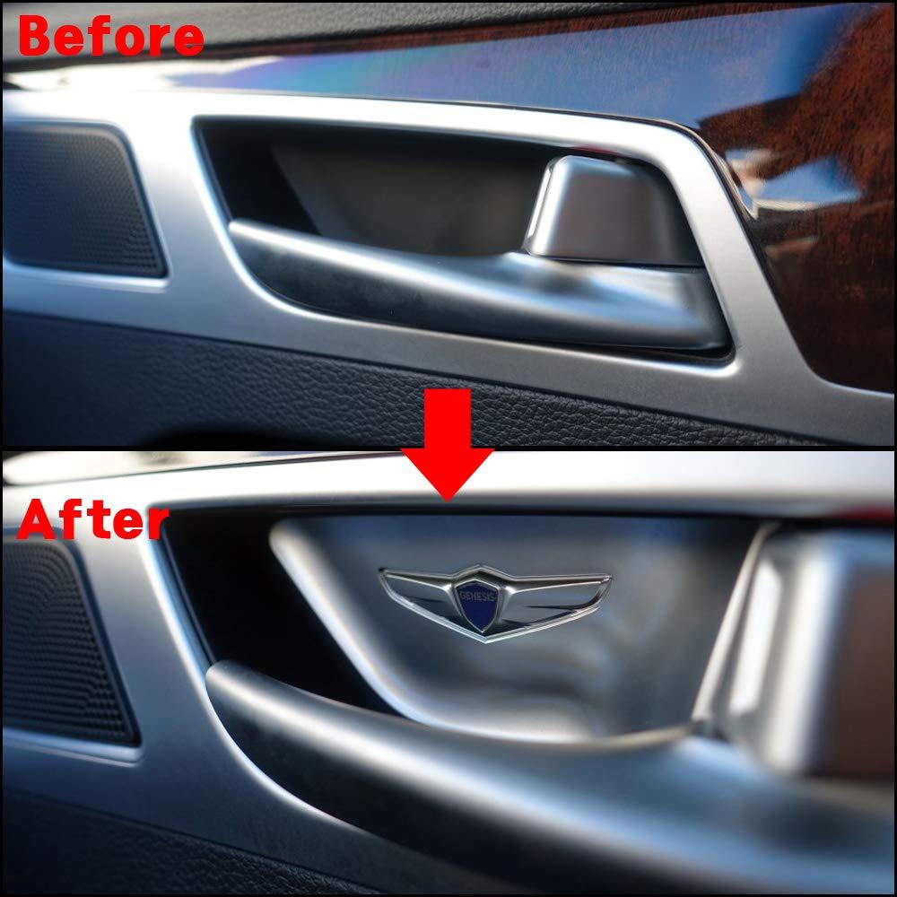 Fits: HYUNDAI 2015-2019 Genesis G80 Door Catch Plate Logo Interior Panel
