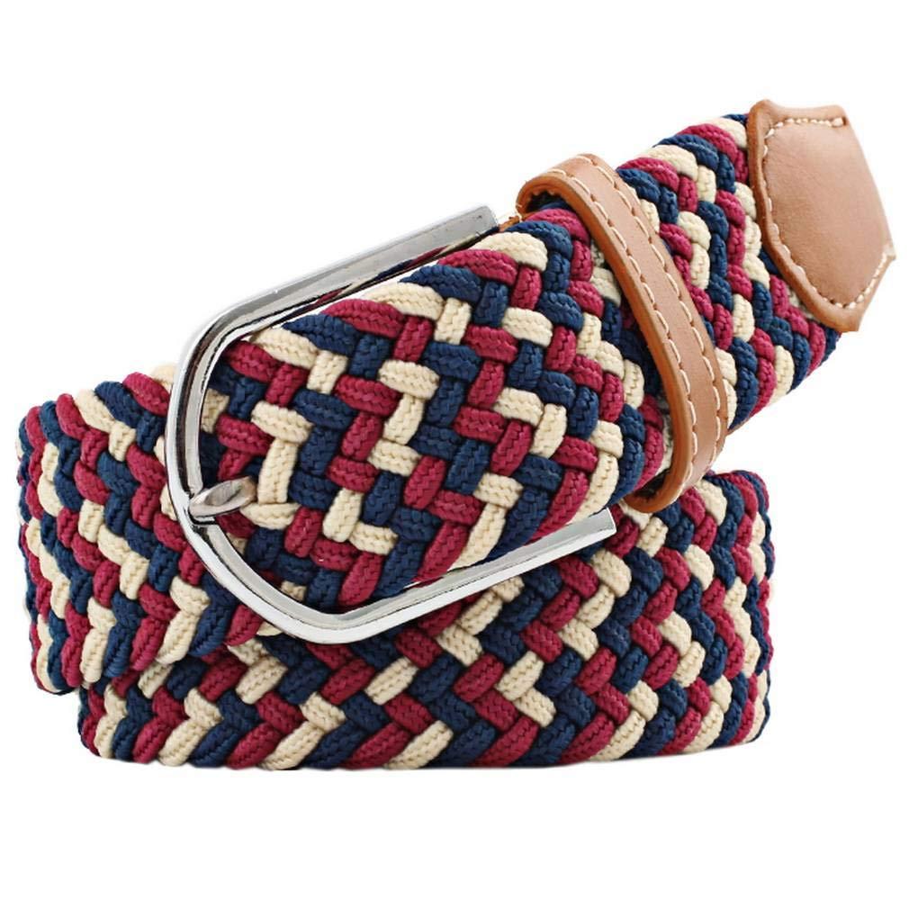 COMVIP Fashion Damen Weben Gürtel Jeans Gürtel Taillegürtel Hüftegürtel 3.3CM Breite für Freizeitkleidung COMVIP18814CY147
