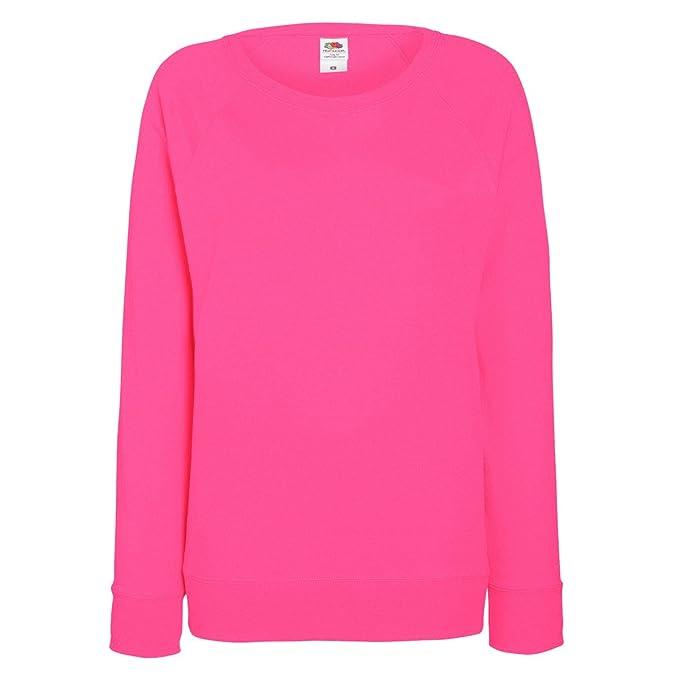 online zu verkaufen Kauf authentisch Gedanken an Fruit OF The Loom Damen Raglan Sweatshirt