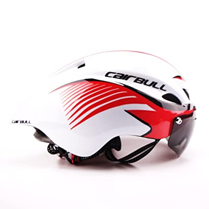 Cairbull 2017 único Desugn Casco de Ciclismo Bike Racing Casco con Gafas de Sol Ajustable 56 cm-61 cm