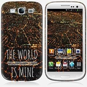 Galaxy S3 case - Skinkin - Original Design : The world is mine by Louise Machado