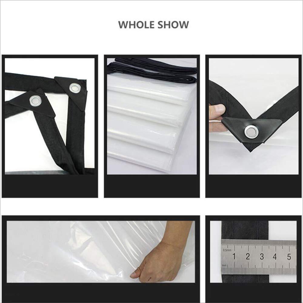 taille : 2mx6m 1m-10m toile transparente imperm/éable /à leau de b/âche imperm/éable /à leau de b/âche de protection de b/âche de PVC pvc 170G // M2 TARPAULIN B/âche//tissu imperm/éable /à leau