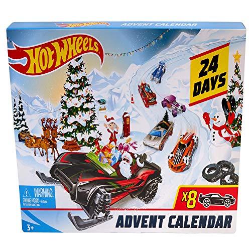 [해외]Hot Wheels Advent Calendar Vehicles / Hot Wheels Advent Calendar Vehicles