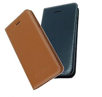 Samsung Galaxy S7 Oder S7 Edge Echt Leder Handy Case Braun