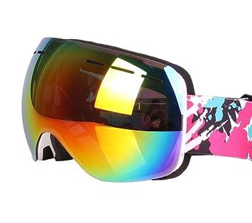 Gafas De Esquí Unisex con Doble Recubrimiento Lente HD ...