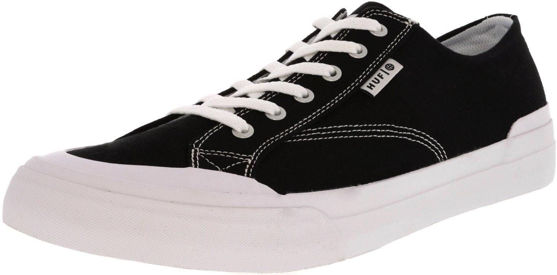 HUF Men's Classic Lo Ess Tx Skateboarding Shoe 5 D(M) US|Black 1