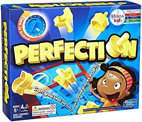 Hasbro Gaming - Juego de mesa Perfection (Hasbro C0432175): Amazon.es: Juguetes y juegos