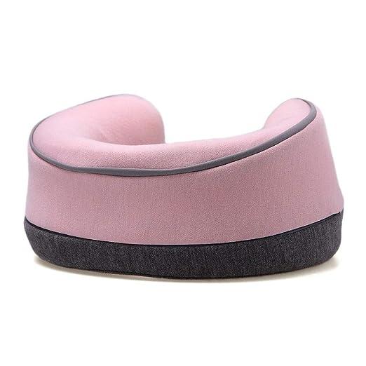 Awxy - Cojín cervical para coche, portátil, para viaje rosa ...