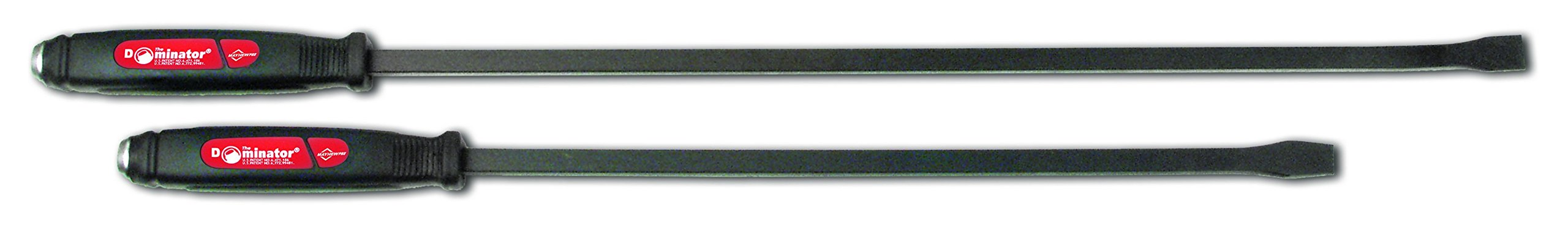 Mayhew 61353 Dominator Screwdriver Pry Bar Set, Curved, 2-Piece