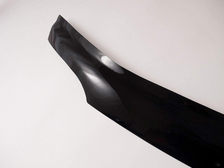 00-06 Van Demon Bonnet Deflector Guard and Exterior Sun Visor Shield Black Acrylic Bundle Mercedes Sprinter