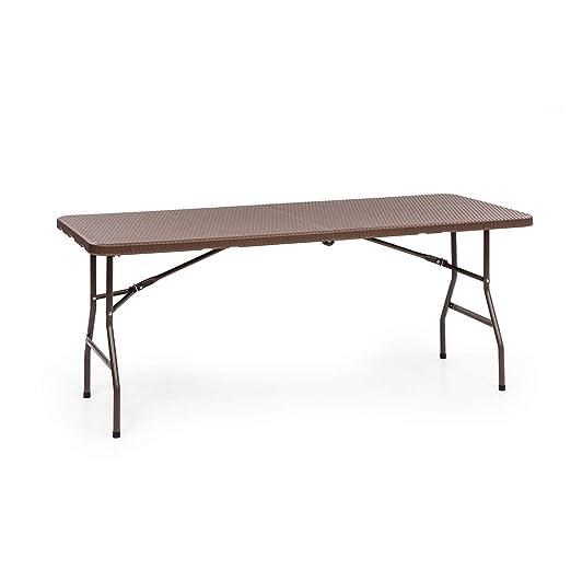 Mesa plegable Burgos Family de Blumfeldt, mesa de jardín, aspecto ...
