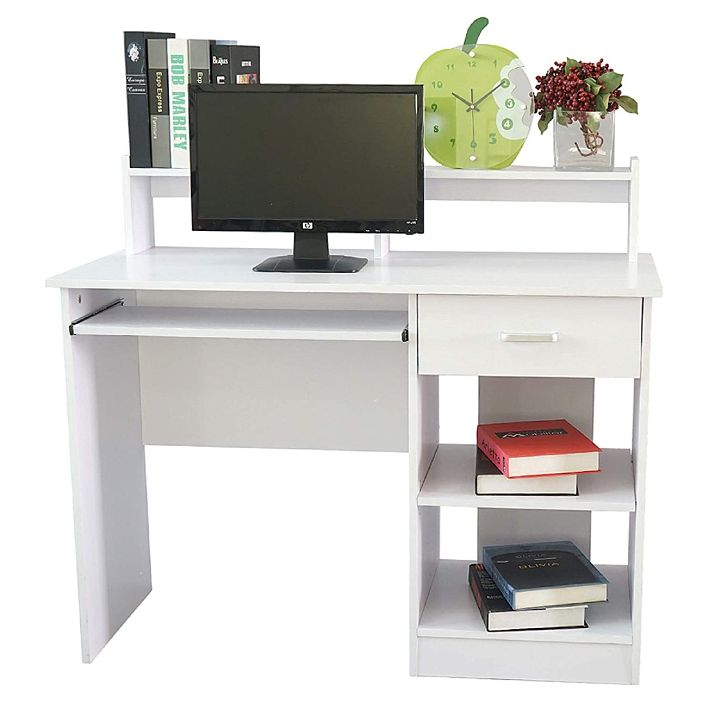 Amazon Com Computer Desk With Hutch Home Office Desk Corner Desk