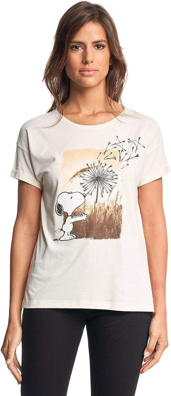 Salsa Camiseta Snoopy Estampado Floral