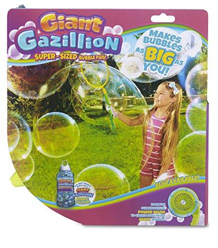Gazillion Incredibubble Wand GIANT Bubbles Wand with GIANT Bubble Solution