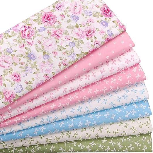 Paquetes de tejido acolchado Fat Quarters de 8 piezas, tela de ...