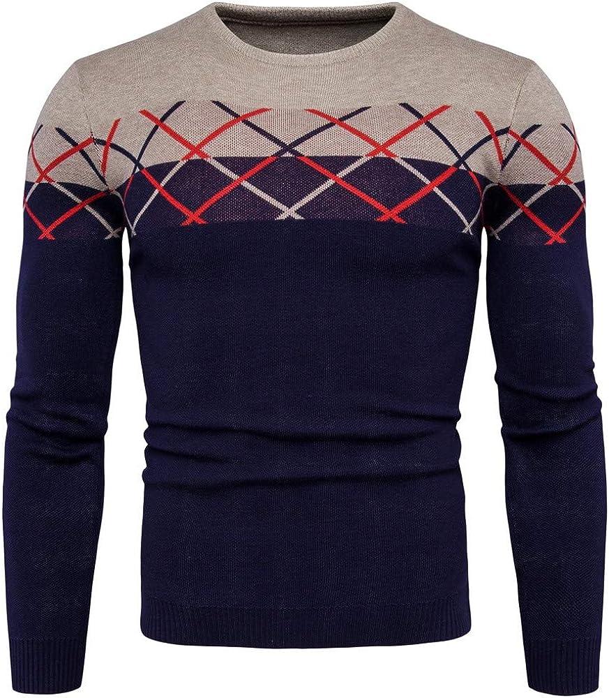 SXZG Otoño E Invierno Comercio Exterior De Los Hombres De Cuadros a Cuadros Suéter Chaqueta De Los Hombres Suéter: Amazon.es: Ropa y accesorios
