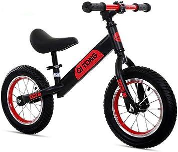 Niños Push Equilibrio Bicicleta Ultraligero Sin Pedales Asiento Ajustable Entrenamiento Regalo Infantil De Los 2-6 Años,C: Amazon.es: Deportes y aire libre