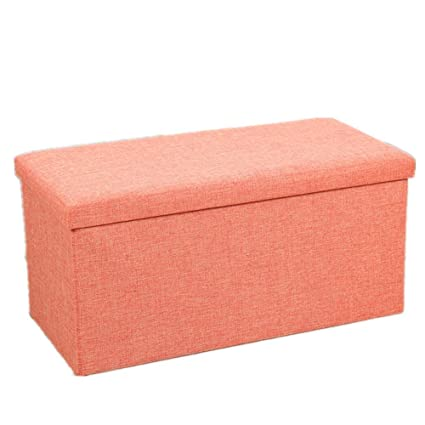 Lineary Home Storage Bench Ottoman Bench Stool Living Room