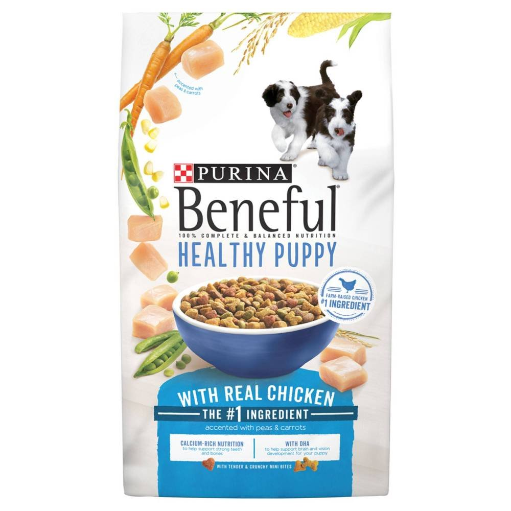 Purina Beneful Healthy Puppy With Real Chicken (Healthy Puppy With Real Chicken, 15.5 lb. - 2 Bag) by Purina Beneful