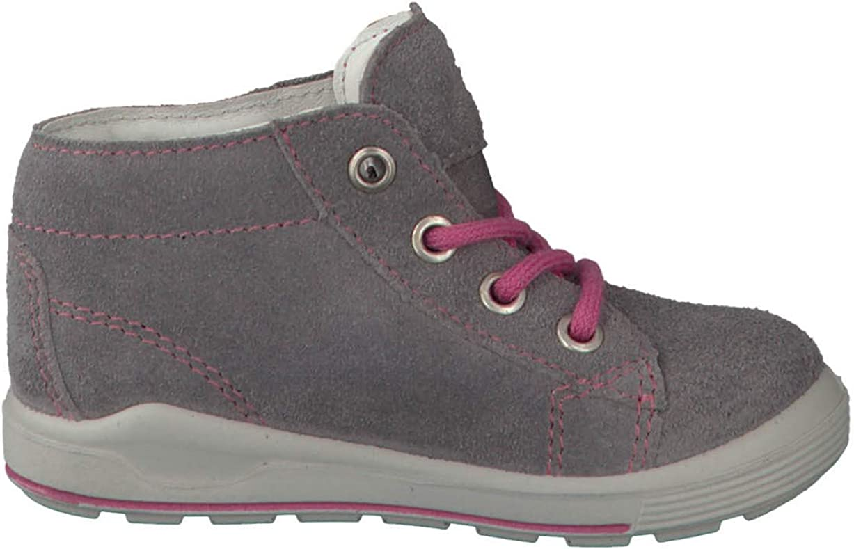RICOSTA Pepino by Fille Bottes & Boots ZAYNI, Largeur: etroite (WMS), Sympatex Graphit Rosa