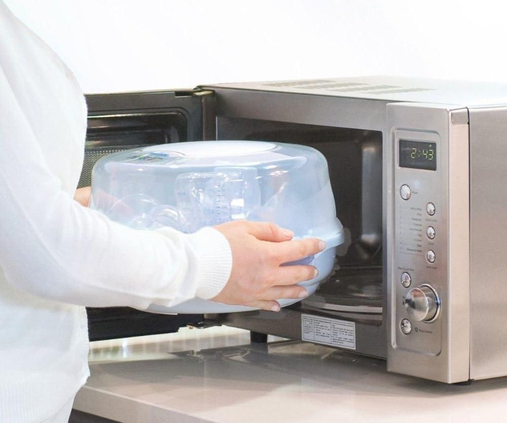 Philips AVENT SCF271/20 - Esterilizador a vapor para microondas ...