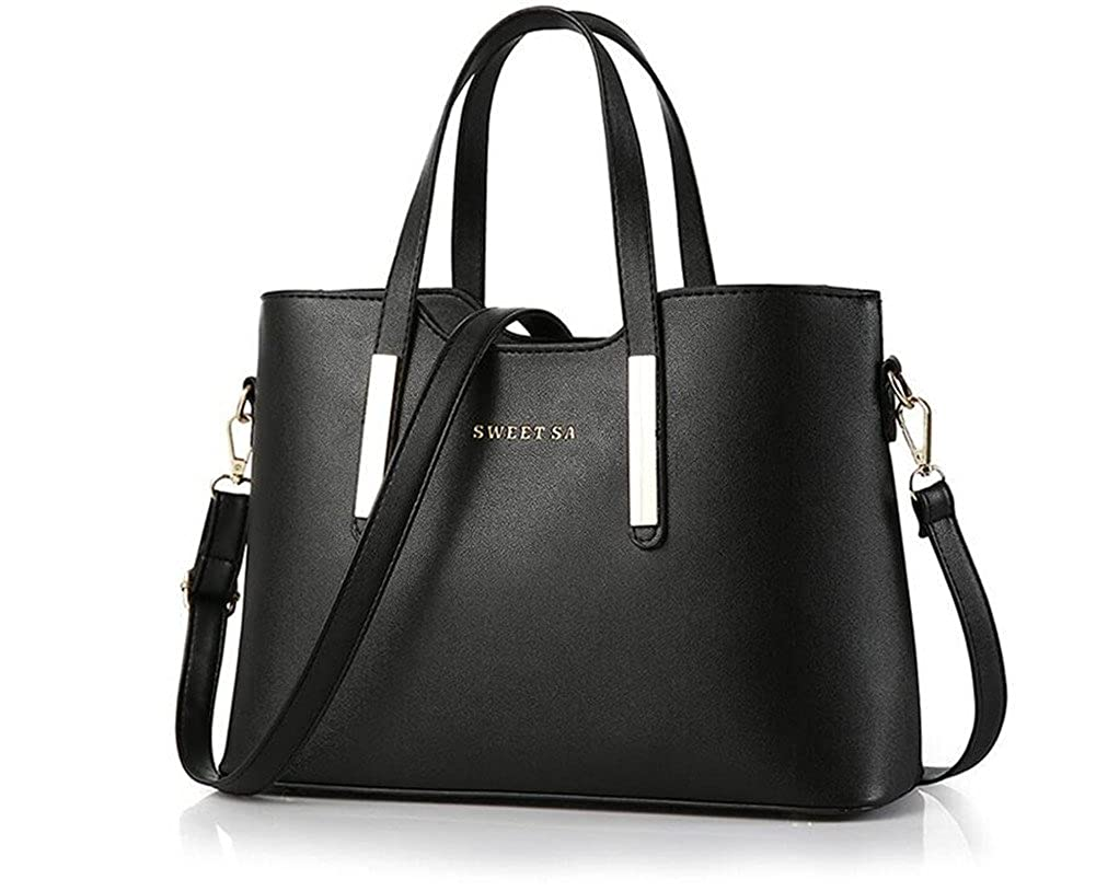 SWEET SA New handbag ladies handbag shoulder bag lady cross (black): Handbags: Amazon.com