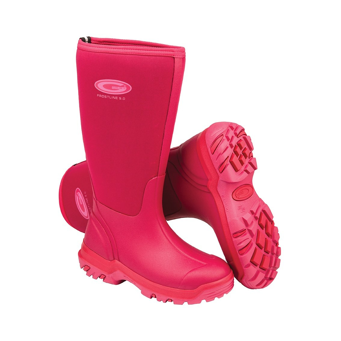 Grubs Womens/Ladies Frostline Boots (9 US) (Coral)