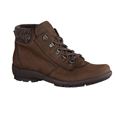 low priced 5d202 2cd04 Waldläufer Damen Stiefeletten HOLMA 589804282/025 braun 227955