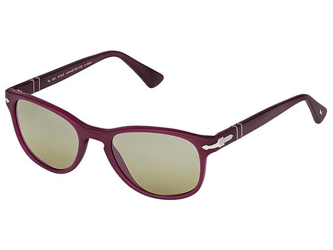 Persol 0PO3086S Gafas de sol, Rectangulares, Polarizadas, 45, Granato: Amazon.es: Ropa y accesorios