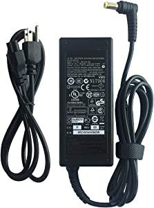 New AC Adapter 19V 3.42A 65W Laptop Charger for Acer Aspire E5 E15 E5-575 E5-575G E5-575-33BM E5-575-52JF E5-575-74XA E5-575G-53VG E5-575G-57D4 V5 V7 V3 R3 R7 S3 E1 M5 5532 5349 5750 Power Supply Cord