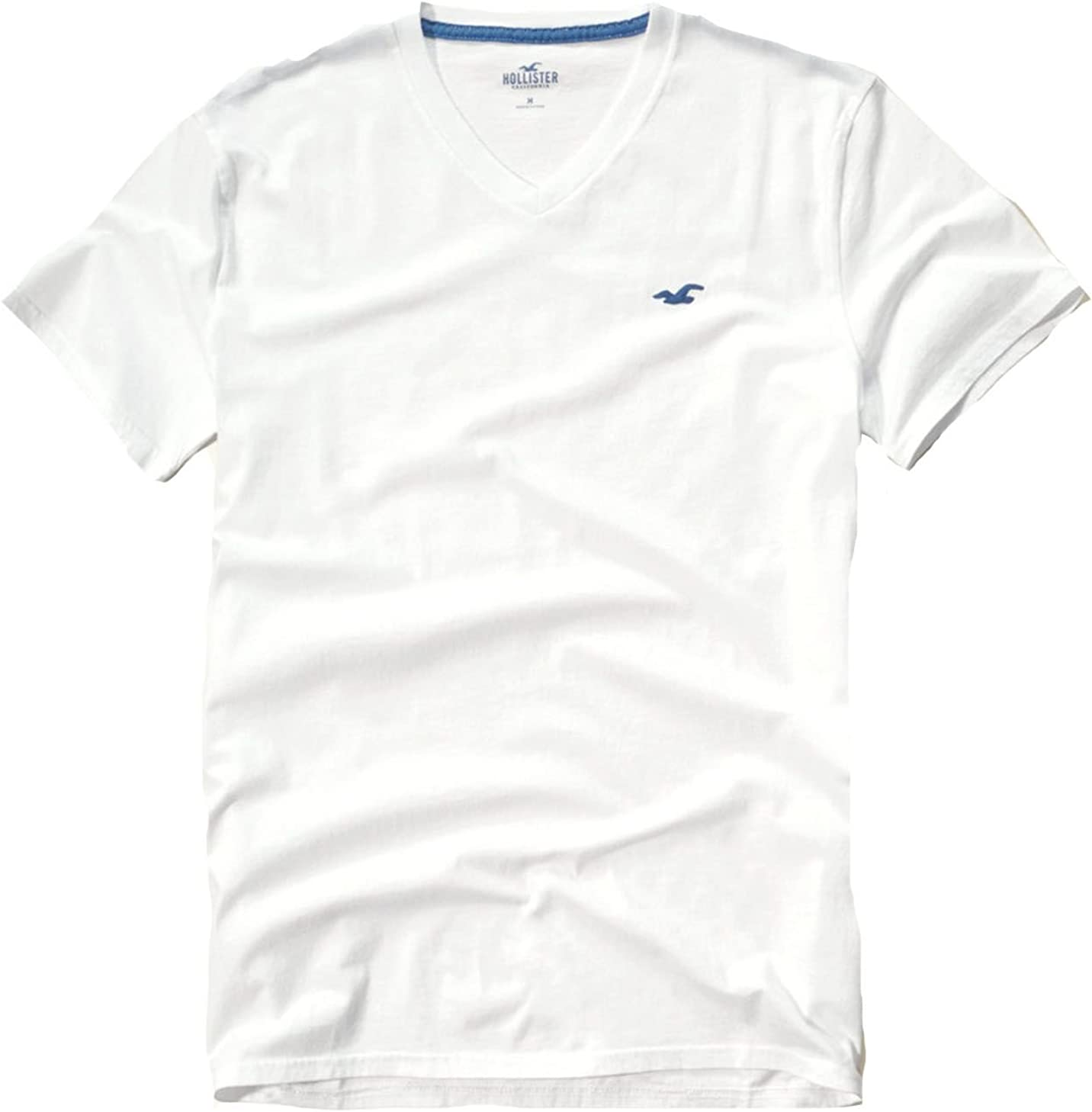 Hollister - Camiseta - para hombre multicolor White 444: Amazon.es ...