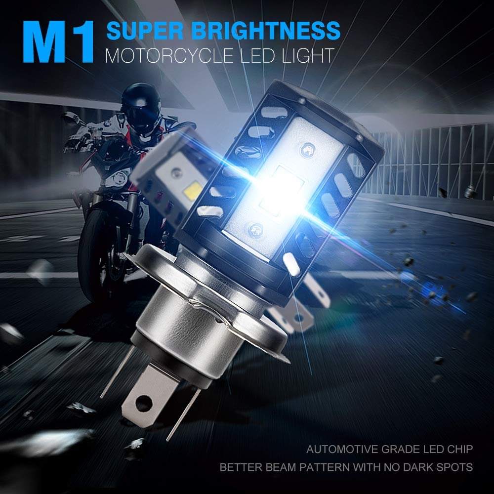 25W X2 10000LM 6500K 1:1 Design Car Replacement Lights of Halogen and Xenon Kit 2 Lamps NOVSIGHT 9012 LED Headlight Bulbs 50W