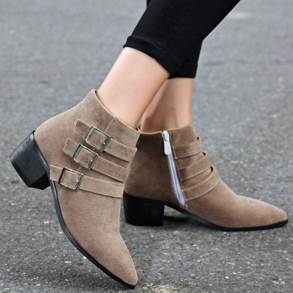 Melady Fashion Chelsea Ankle Boots Pull On