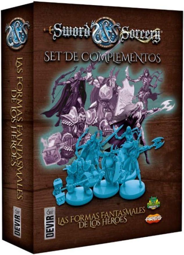 Devir- Sword & Sorcery: Las Formas Fantasmales de los Héroes (BGSISACC): Amazon.es: Juguetes y juegos