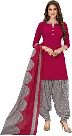 Hina Designer Patiyala suit (stitched) Casual Kameez & Salwar Set For Women