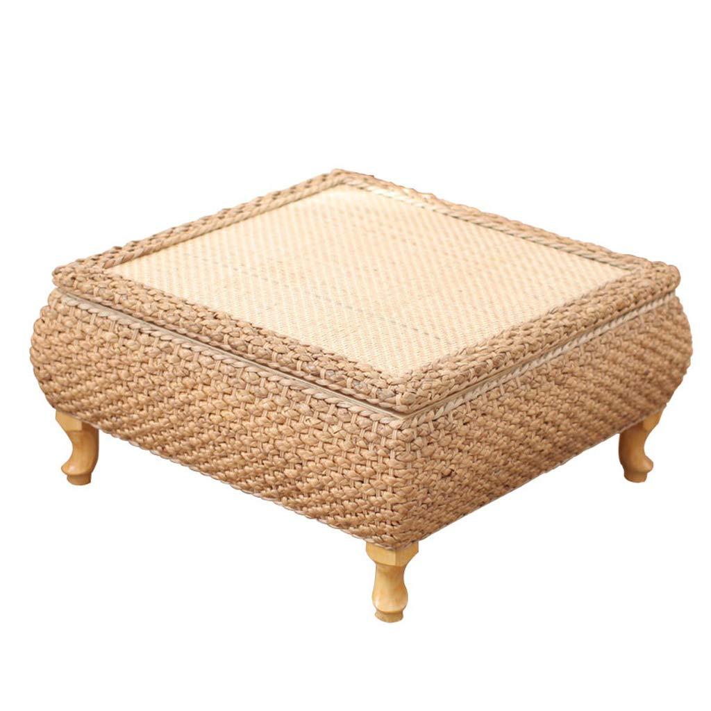 preferenziale Tavolino tavolino tavolino tavolino da caffè in Erba Tavolino da Balcone in Stile Giapponese tavolino Basso da Balcone tavolino Basso (Dimensioni  43x43x30cm)  ordina ora goditi un grande sconto