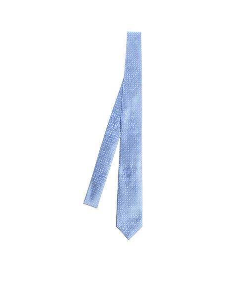Ermenegildo Zegna - Cravatta - Uomo Blu chiaro taglia unica  Amazon.it   Abbigliamento 2ca5c2eee80