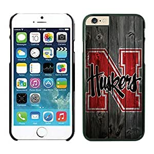 Personality customization Case Cover For Iphone 6 4.7 Inch Cover Case NCAA-BIG TEN Nebraska Cornhuskers 12 Black Hard Phone Case For es By LINtt Cases