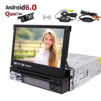 Estéreo androide del coche 1 Din GPS de navegación por satélite con reproductor de CD DVD