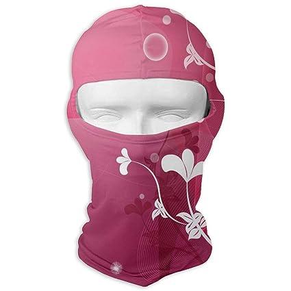 Amazon.com   Biprdwm Neck Scarf Sunscreen Hats Pink Flowers Sun UV ... 840f6208ca2