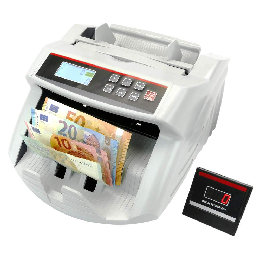 PrimeMatik - Contatore di Banconote con rilevazioni UV MG1 MG2 PrimeMatik.com