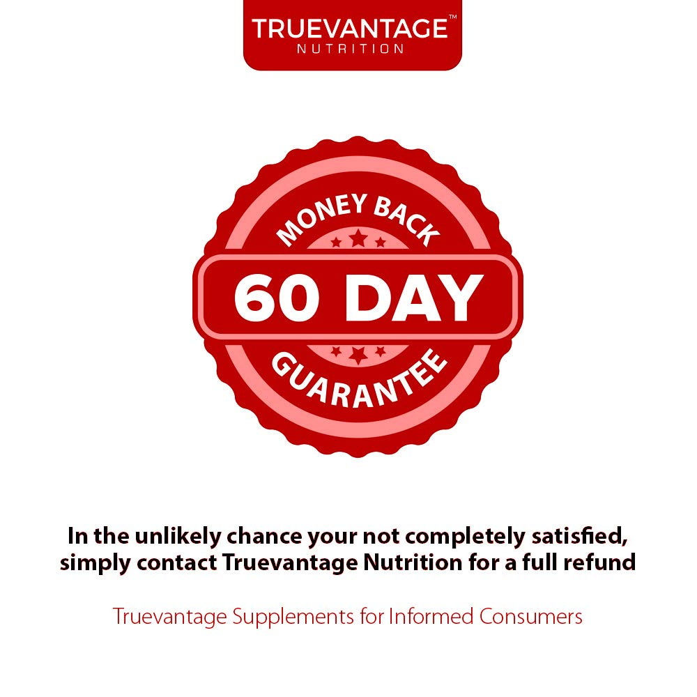Extra Strength Vitamin K2 Supplement 180mcg - Vitamin k2 Supplement Supports Bone & Heart Health for Cardiovascular Calcium Absorption - 60 Easy to Swallow Vegan caps of Vitamin K2 MK7 (3 Pack) by Truevantage Nutrition (Image #6)